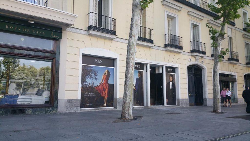 Tienda Hugo Boss Serrano