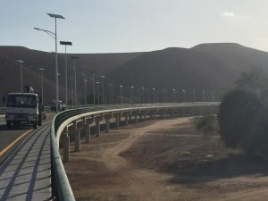 Iluminación del Puente sobre el río Giraul