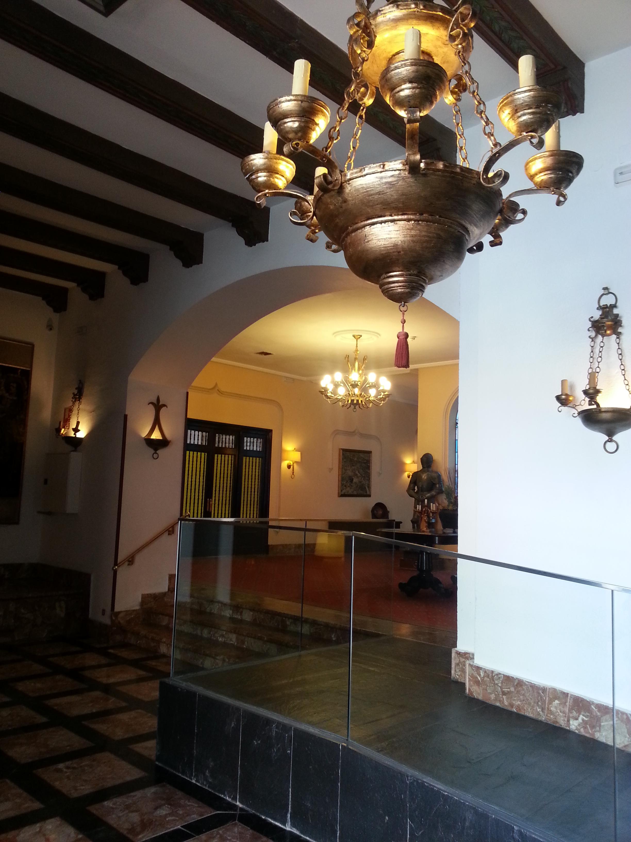 Interior Palacio de Valderrábanos