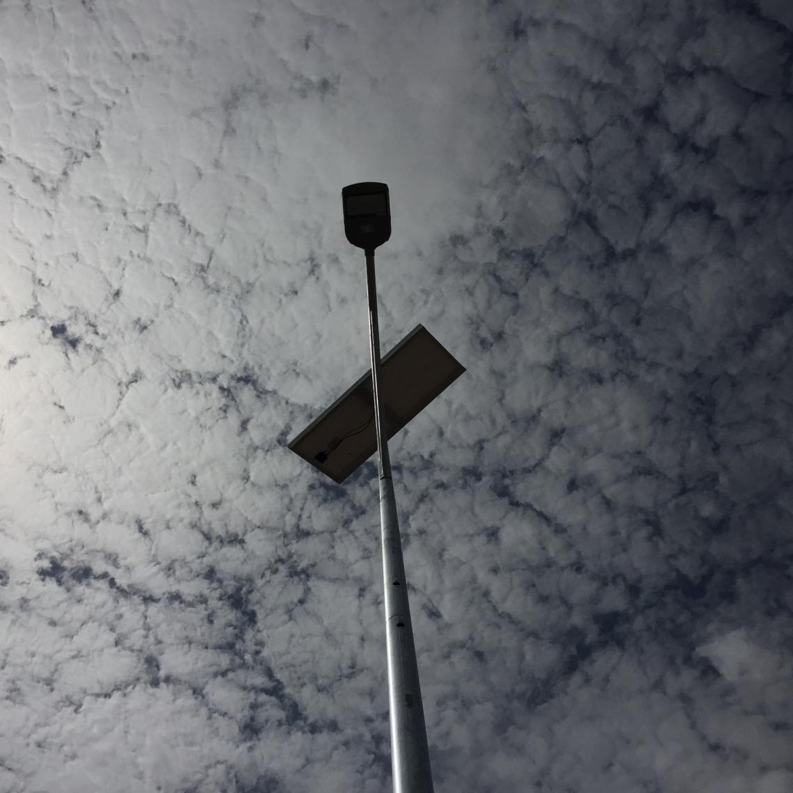 Iluminación solar LED Puente Giraul