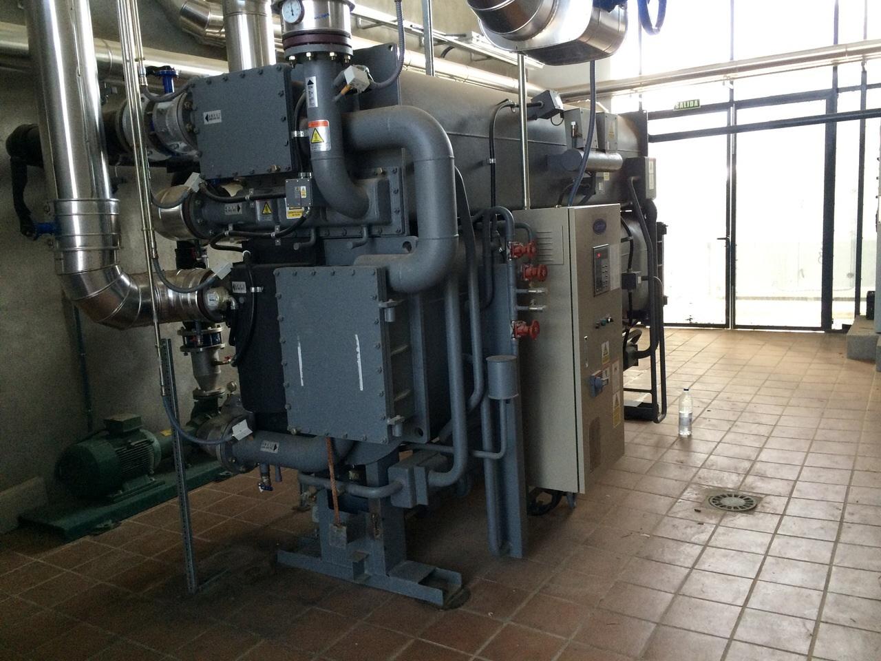 Máquina de absorción