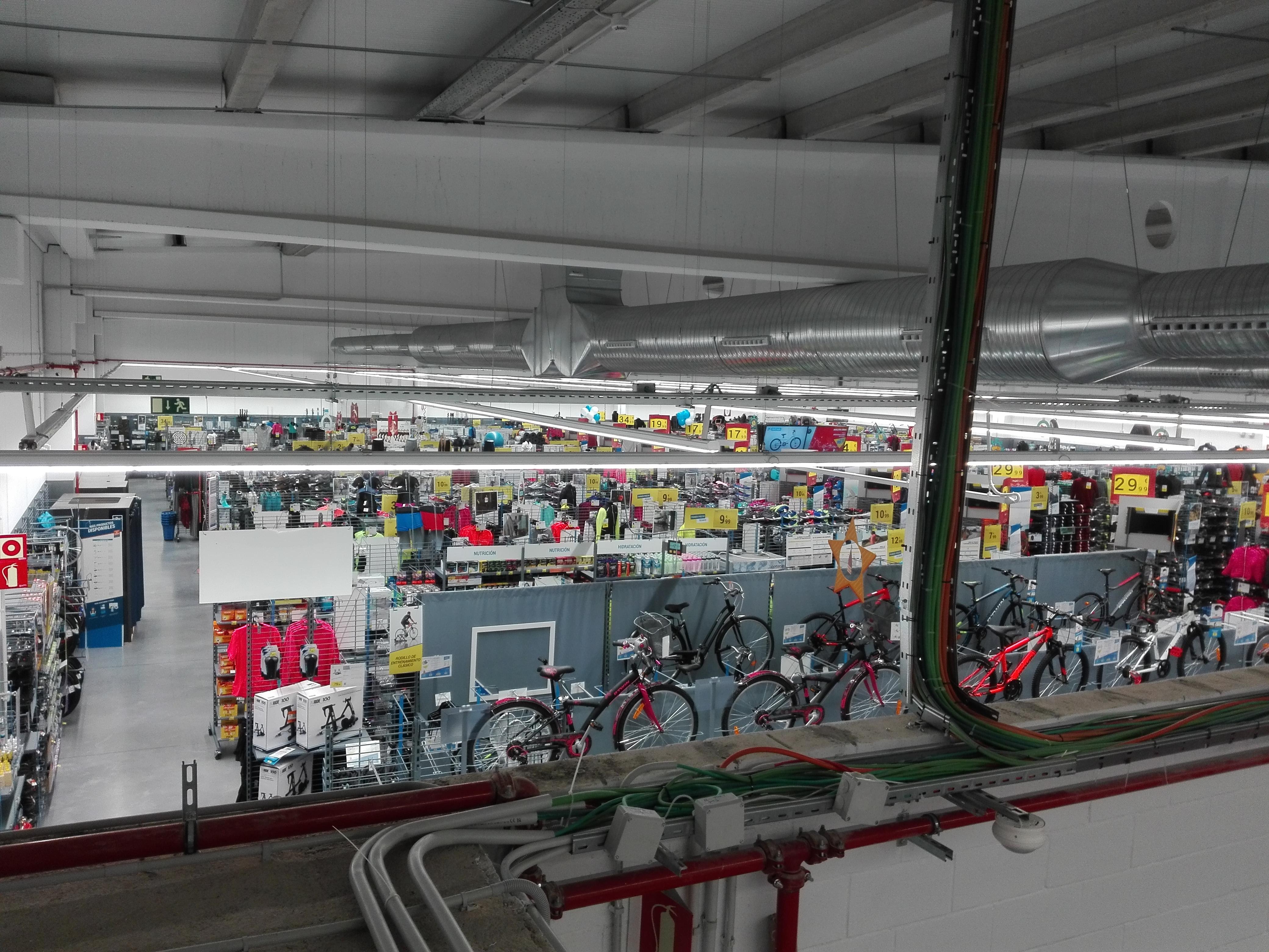 Interior Decathlon Villanueva de la Serena