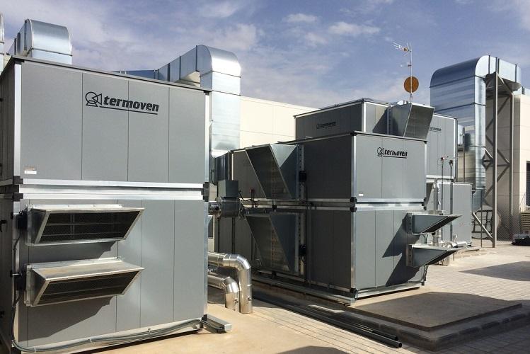 Máquinas climatizadoras