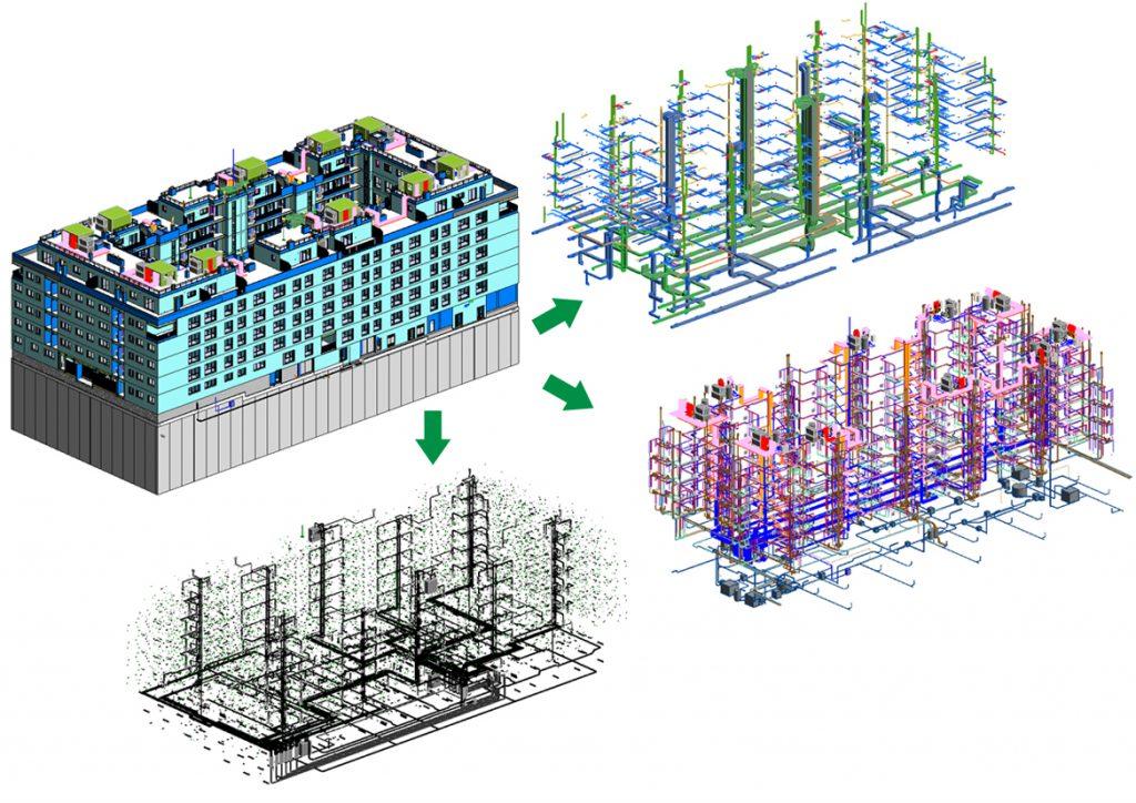 Instalaciones en edificio de viviendas